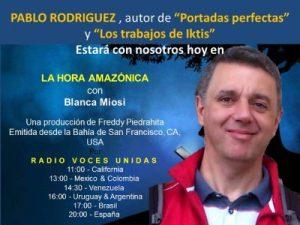 Entrevista para «La Hora Amazónica» de Blanca Miosi.